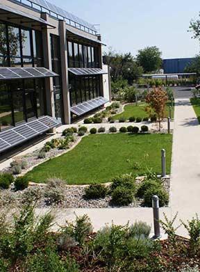 Conception Jardin Du0027entreprise